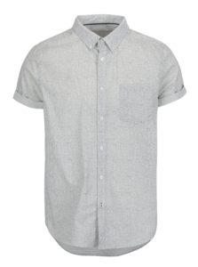 Krémová vzorovaná košeľa Burton Menswear London