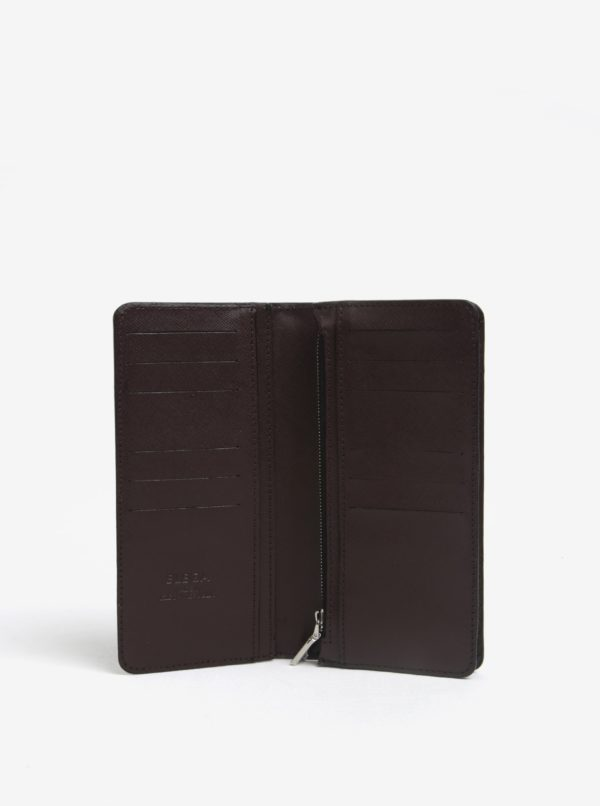 Hnedá dámska kožená peňaženka ELEGA Amina