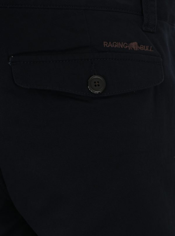 Tmavomodré chino nohavice Raging Bull