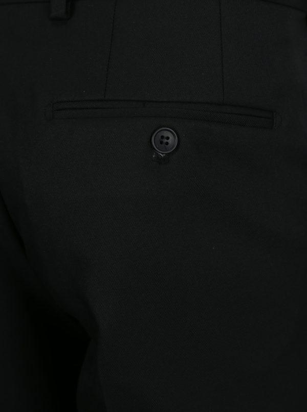 Čierne nohavice Selected Homme Slim