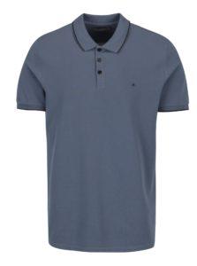 Modrá pánska polokošeľa Calvin Klein Jeans Paul