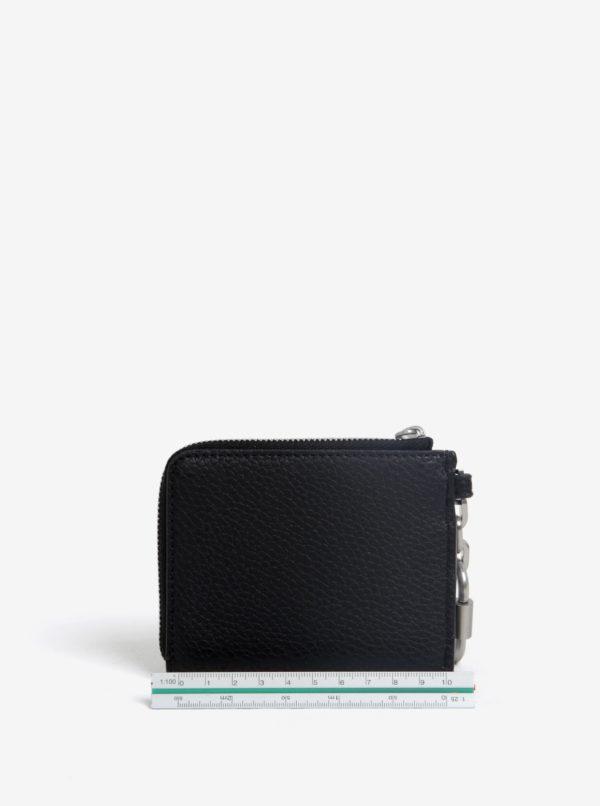Čierna kľúčenka s karabínou Calvin Klein Jeans Gifting  587cd1705d9
