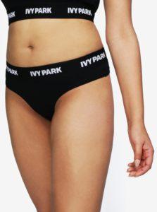 Čierne tangá Ivy Park