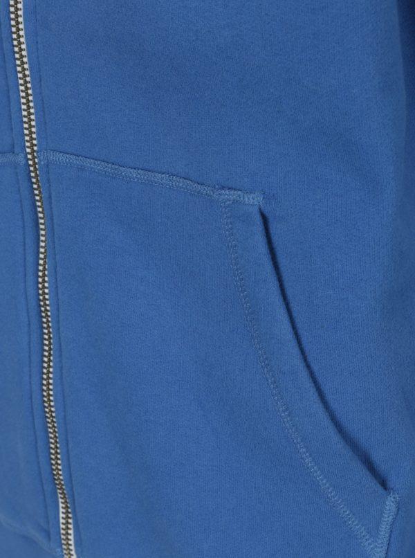 Modrá pánska mikina s kapucňou Jimmy Sanders