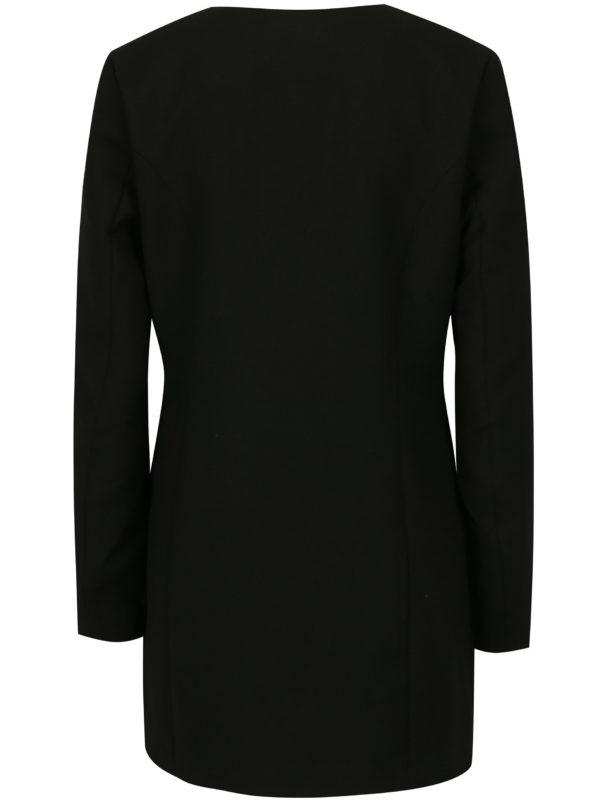 Čierny kabát Jacqueline de Yong New Brighton