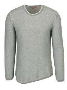 Sivý pánsky sveter s prímesou vlny Jimmy Sanders