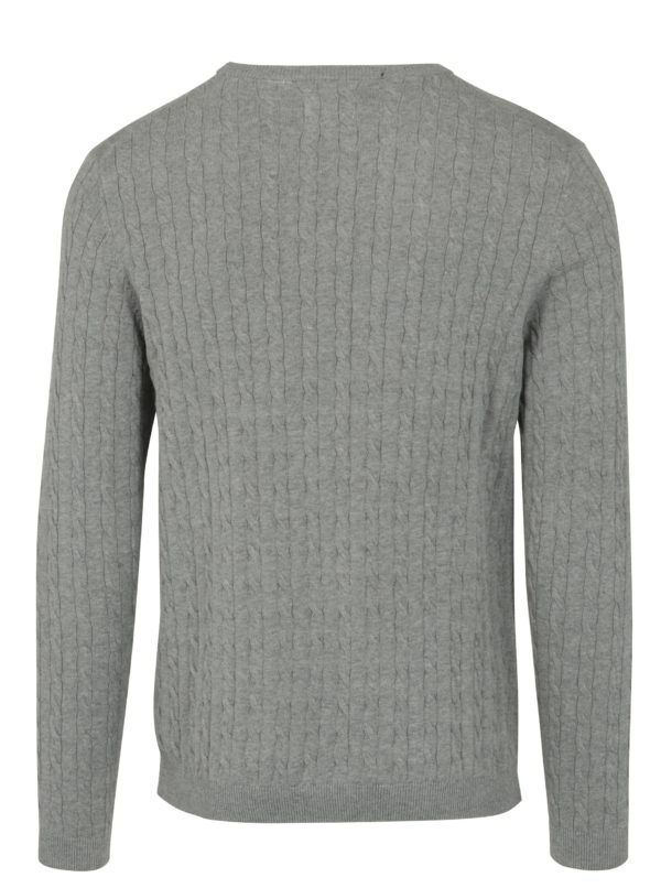 Sivý sveter ONLY & SONS Alex