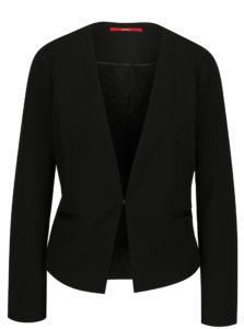 Čierne dámske sako s.Oliver