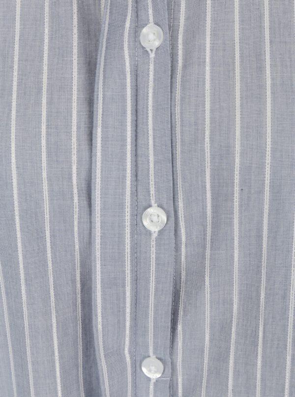 Modrá dámska pruhovaná košeľa s.Oliver