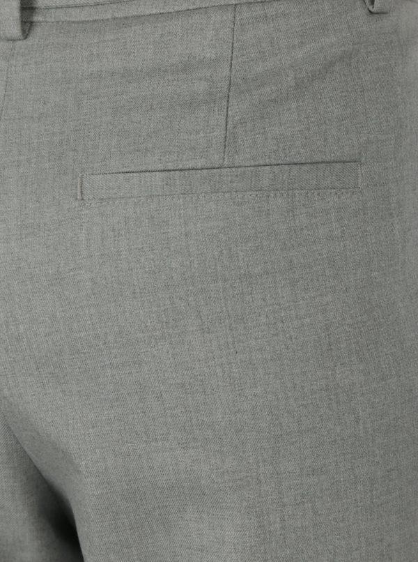 Svetlosivé dámske nohavice s opaskom s.Oliver