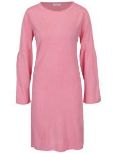 Ružové šaty s rozšíreným rukávom Jacqueline de Yong Stardust