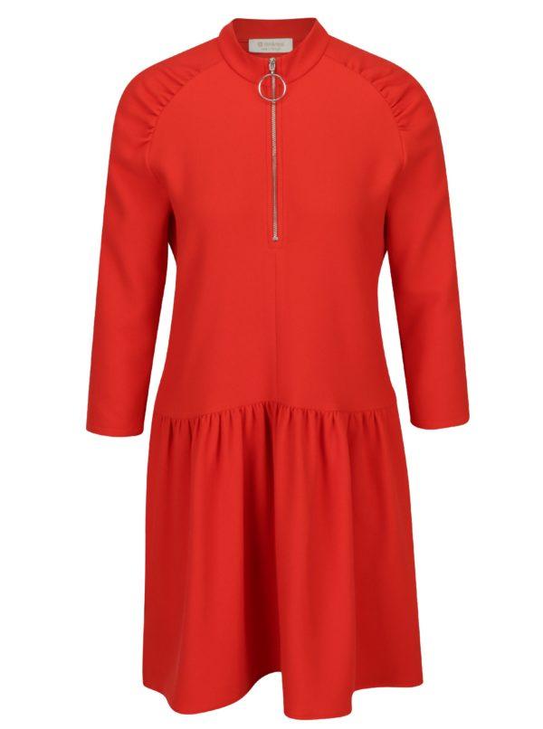 Červené šaty so zipsom Rich & Royal