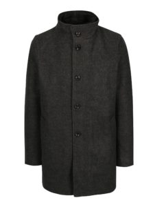 Sivý pánsky zimný kabát s.Oliver