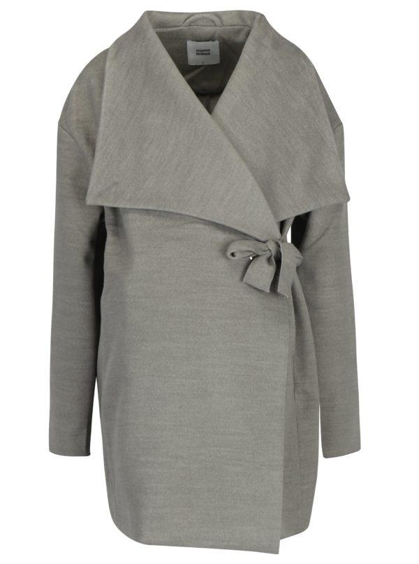 Sivý tehotenský kabát Mama.licious Ronya