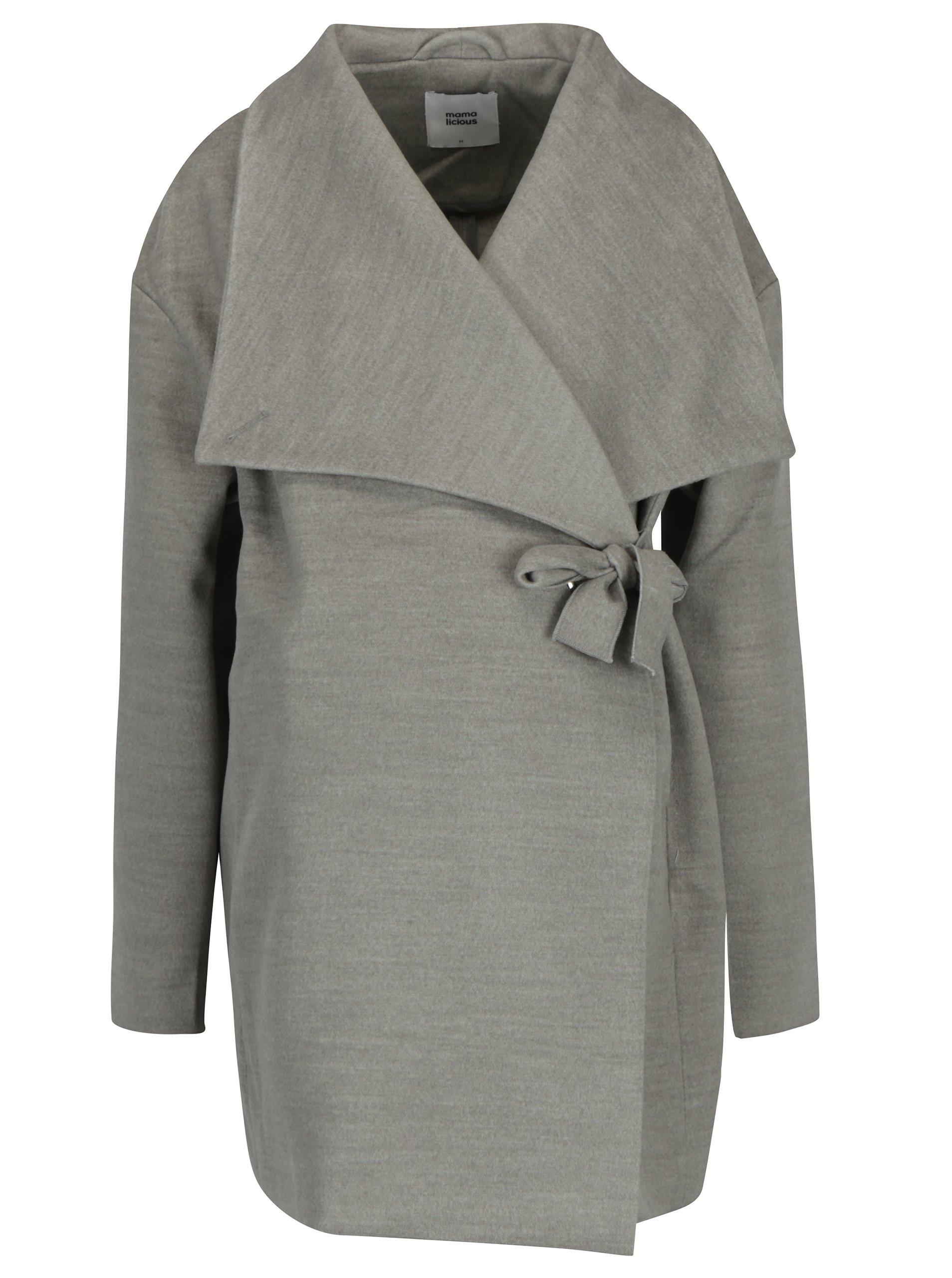 218cc38a9 Sivý tehotenský kabát Mama.licious Ronya | Moda.sk