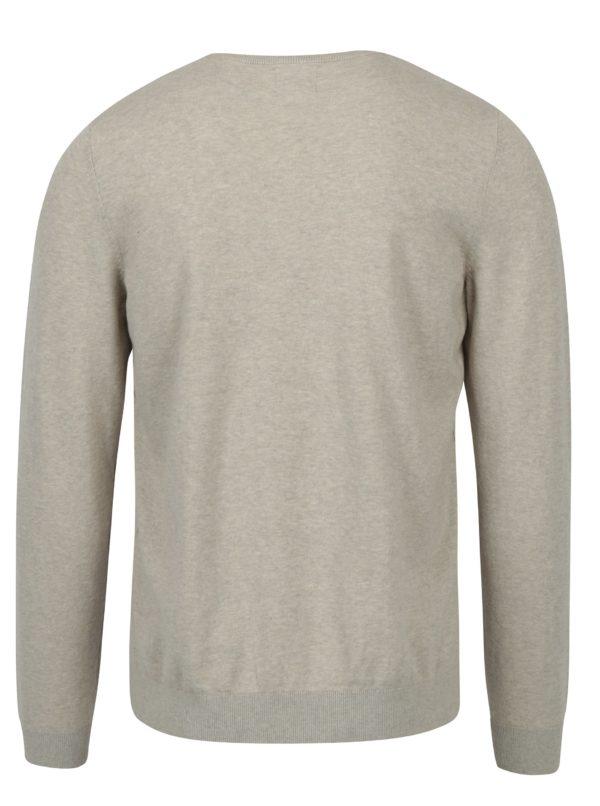 Béžový tenký sveter Burton Menswear London