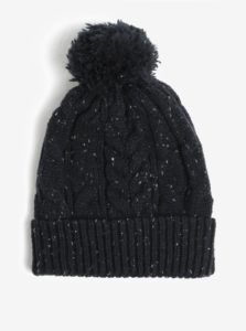 Tmavomodrá melírovaná čiapka Burton Menswear London