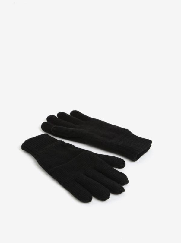 Čierne rukavice Burton Menswear London
