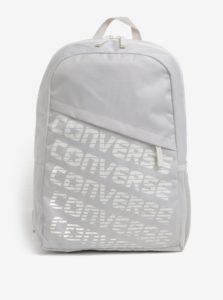 Krémový batoh s potlačou Converse Speed 20 l