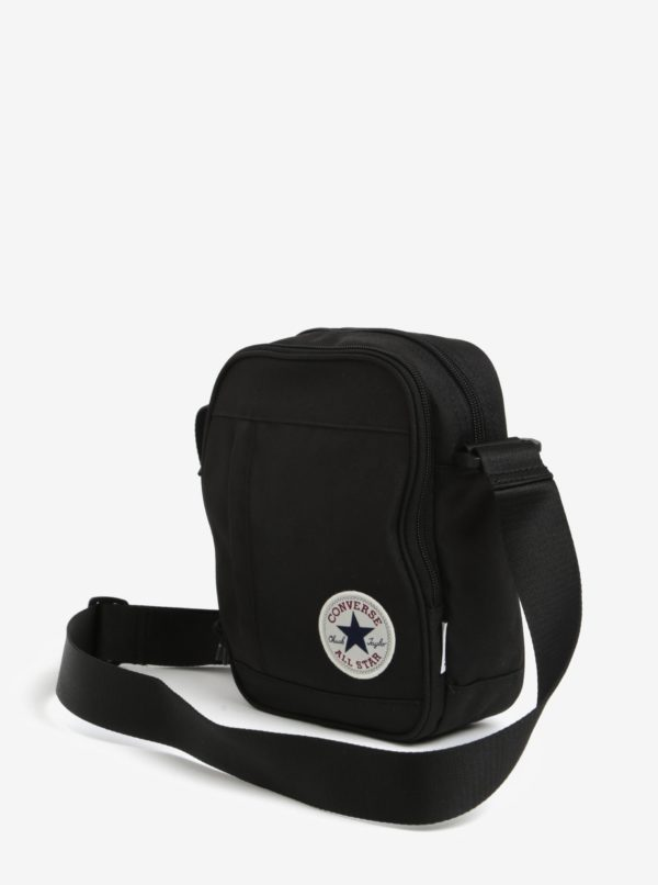 Čierna unisex crossbody taška Converse Poly