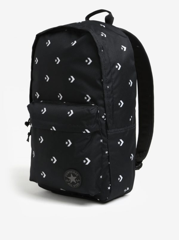 592650ae49 Čierny batoh s potlačou Converse EDC Poly 19 l