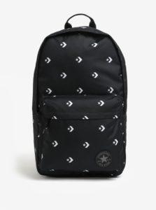 Čierny batoh s potlačou Converse EDC Poly 19 l