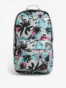 Krémový kvetovaný batoh Converse EDC Poly 19 l