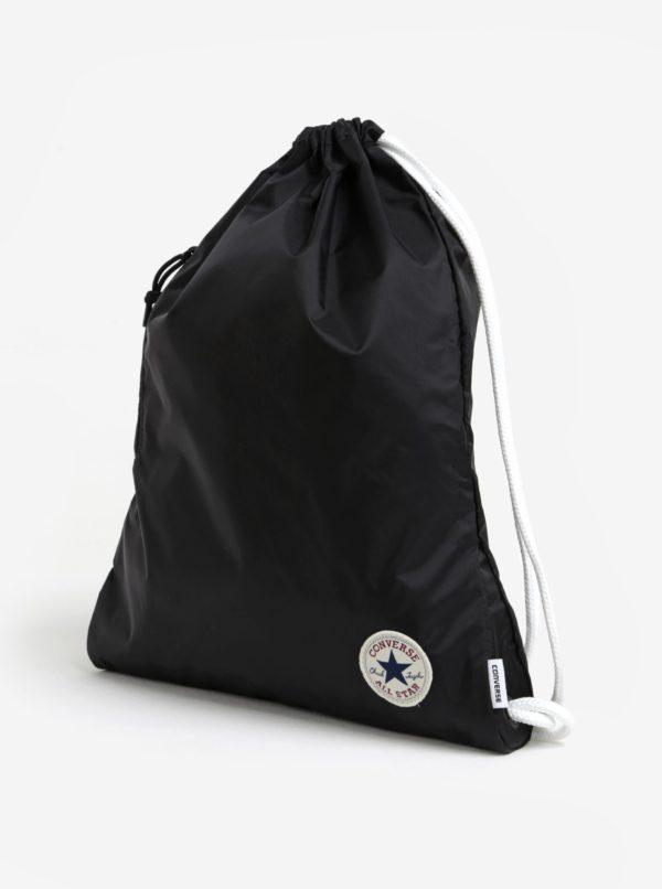 Čierny vak s logom Converse Cinch