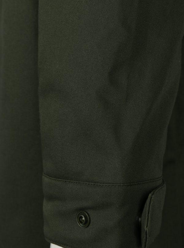 Kaki pánska parka s prešívanou bundou 2v1 adidas Originals