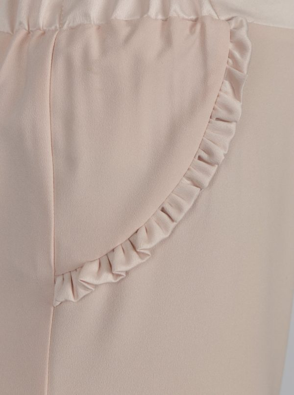 Svetloružové culottes Dorothy Perkins Petite