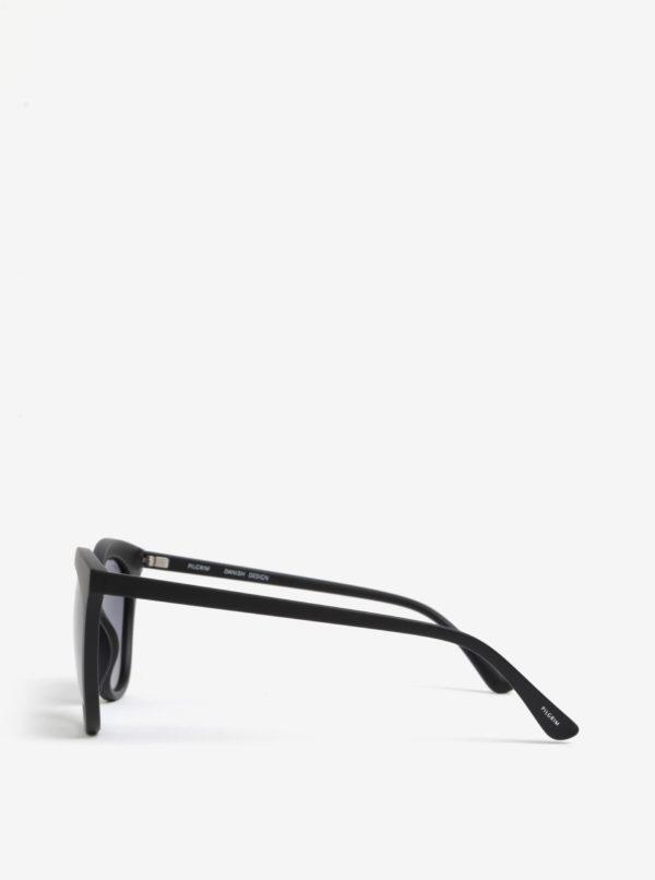 Čierne dámske slnečné okuliare Pilgrim Ivy