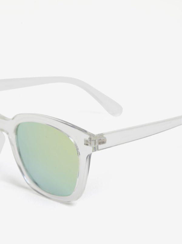 Transparentné dámske slnečné okuliare Pilgrim Mireille