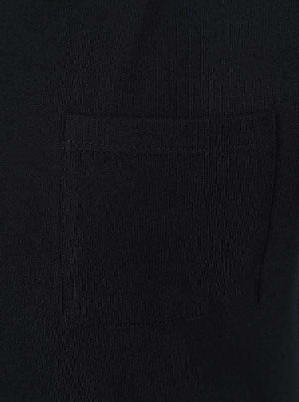 Tmavomodré chlapčenské tričko name it Vester
