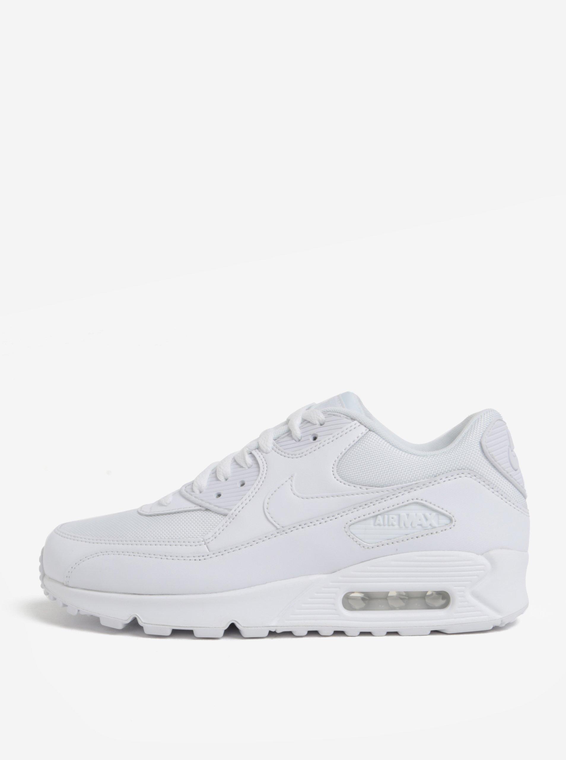 e589a7246ee Biele pánske kožené tenisky Nike Air Max  90 Essential