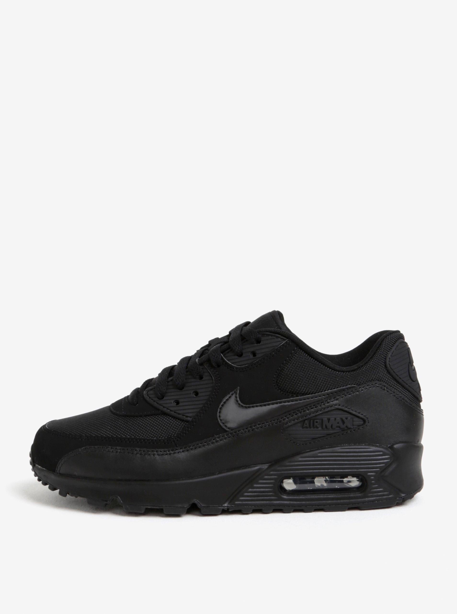 Čierne pánske semišové tenisky Nike Air Max  90 Essential  65f170a705e
