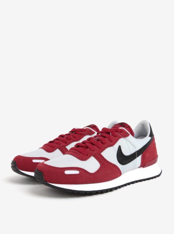 ddd41261175b8 Sivo-červené semišové pánske tenisky Nike Air Vortex   Moda.sk
