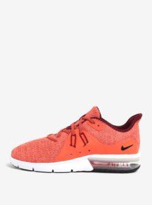 Oranžové pánske tenisky Nike Air Max Sequent 3 Running Shoe