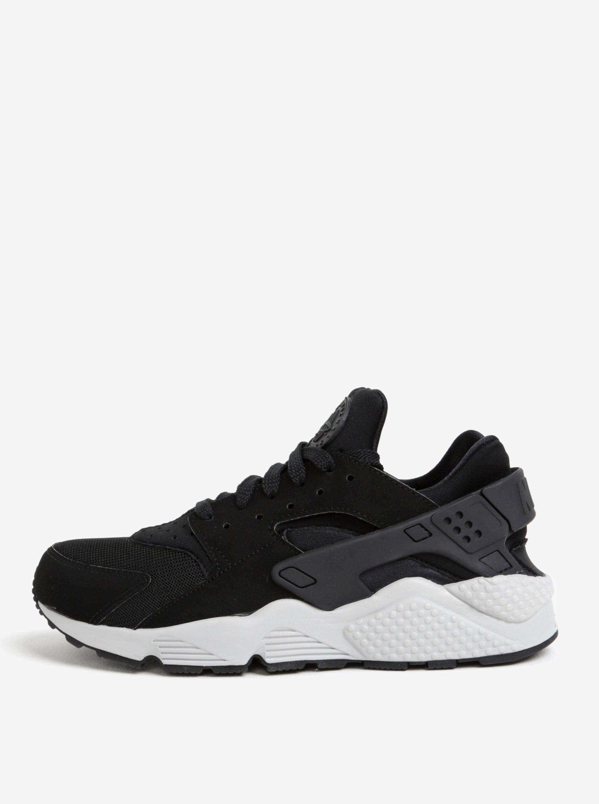 ba743387857ab Čierne pánske tenisky s bielou podrážkou Nike Air Huarache | Moda.sk