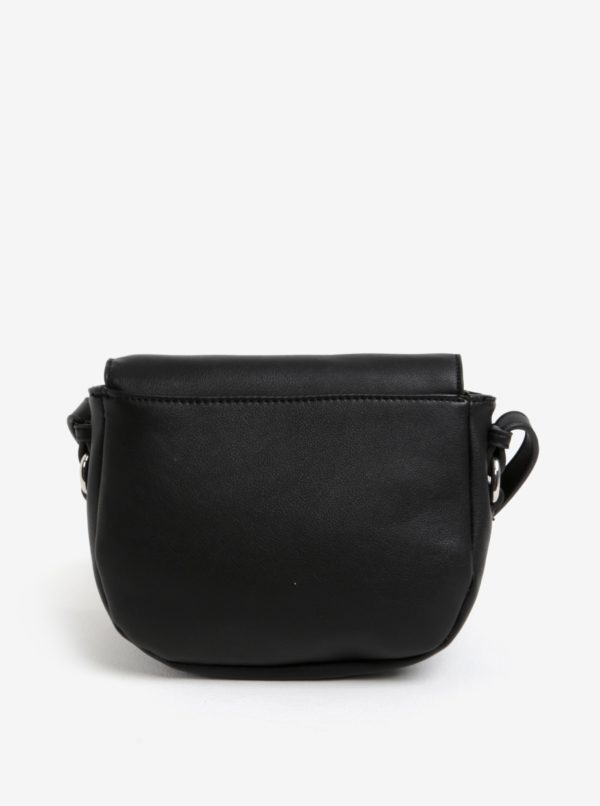 Čierna crossbody kabelka Pieces Alice