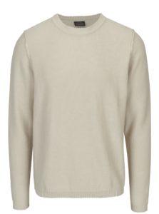 Krémový sveter Jack & Jones Originals Uber
