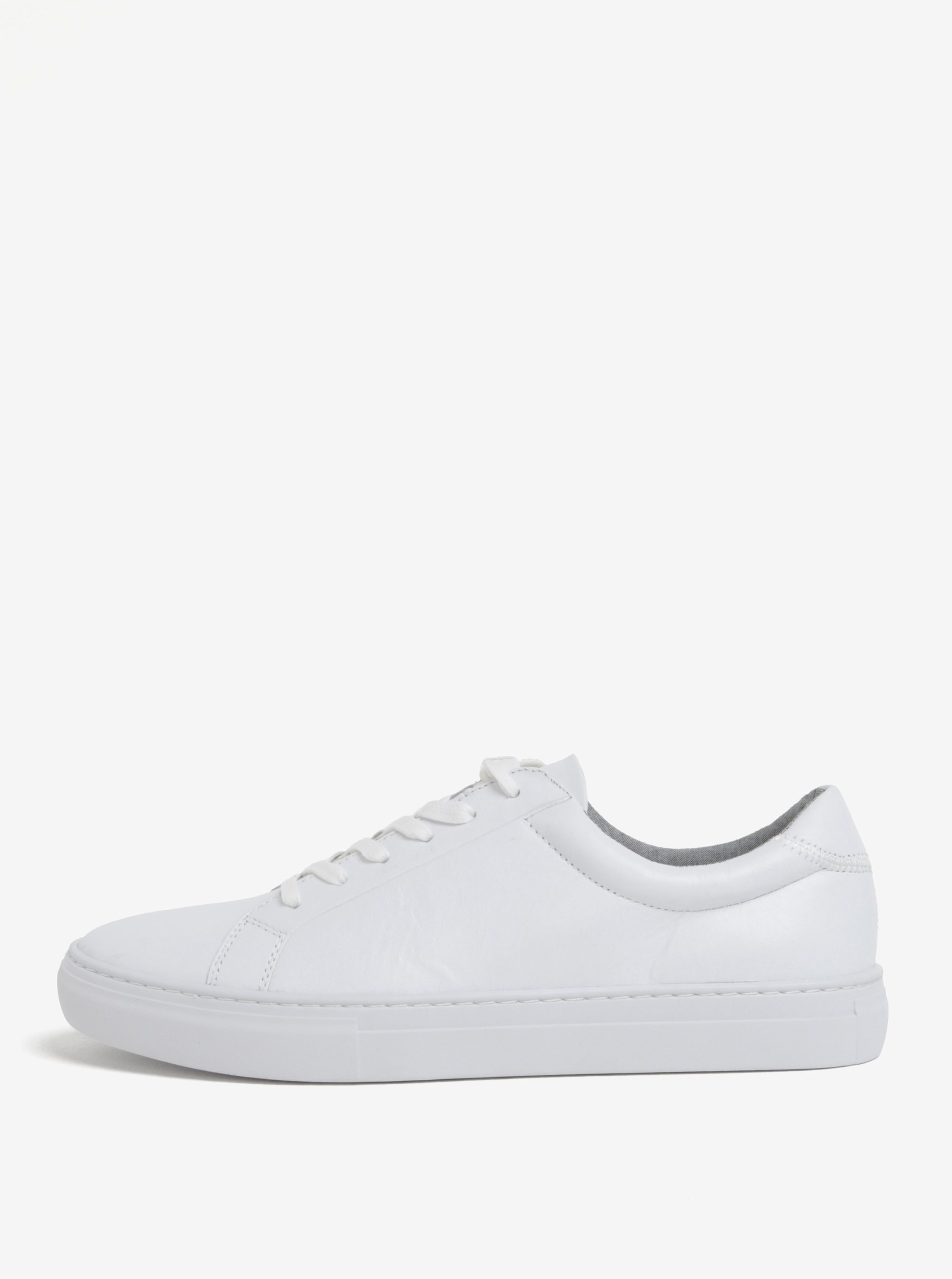 Biele pánske kožené tenisky Vagabond Paul  acbfc949570