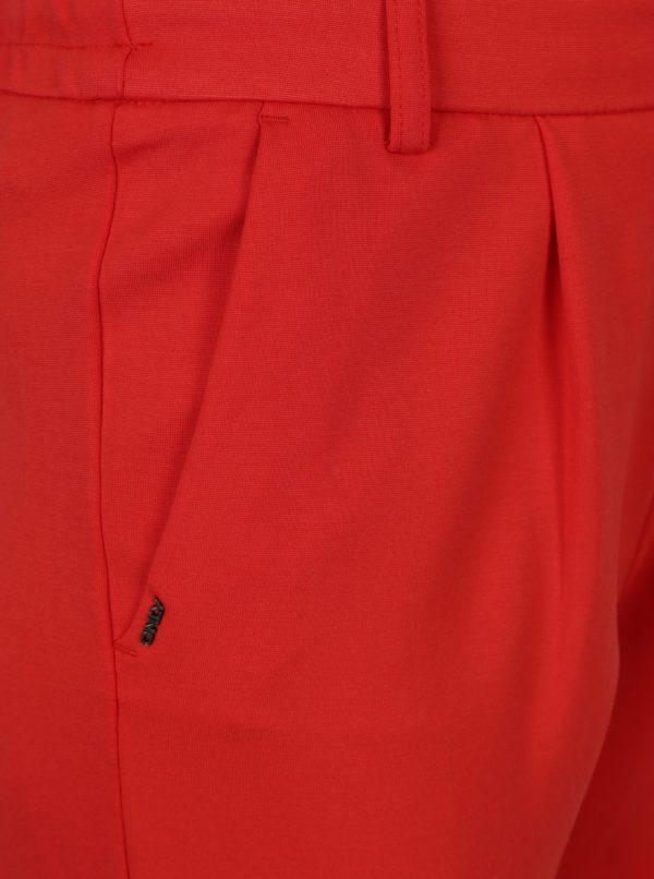 Červené nohavice ONLY Poptrash