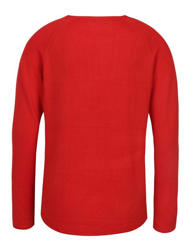 Červený tenký sveter ONLY Mila