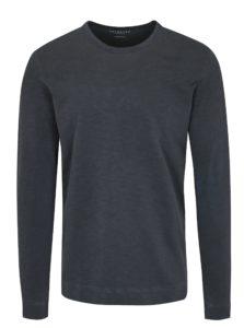 Tmavosivé tričko s dlhým rukávom Selected Homme Ben