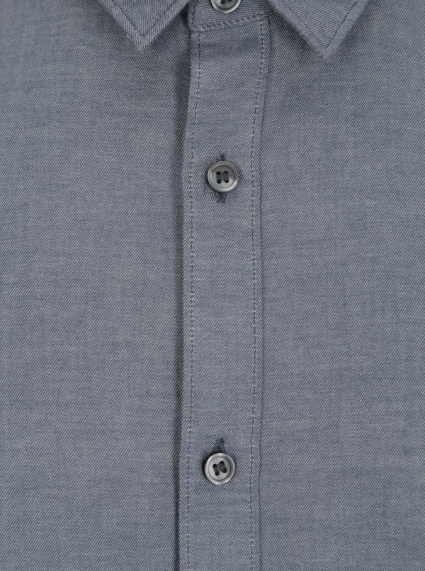 Modrá regular fit košeľa Selected Homme Two Todd