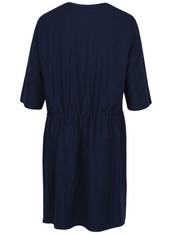 Modré košeľové šaty Ulla Popken