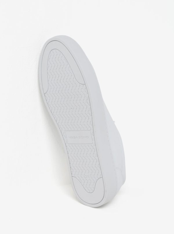 Biele dámske tenisky na platforme Vagabond Zoe