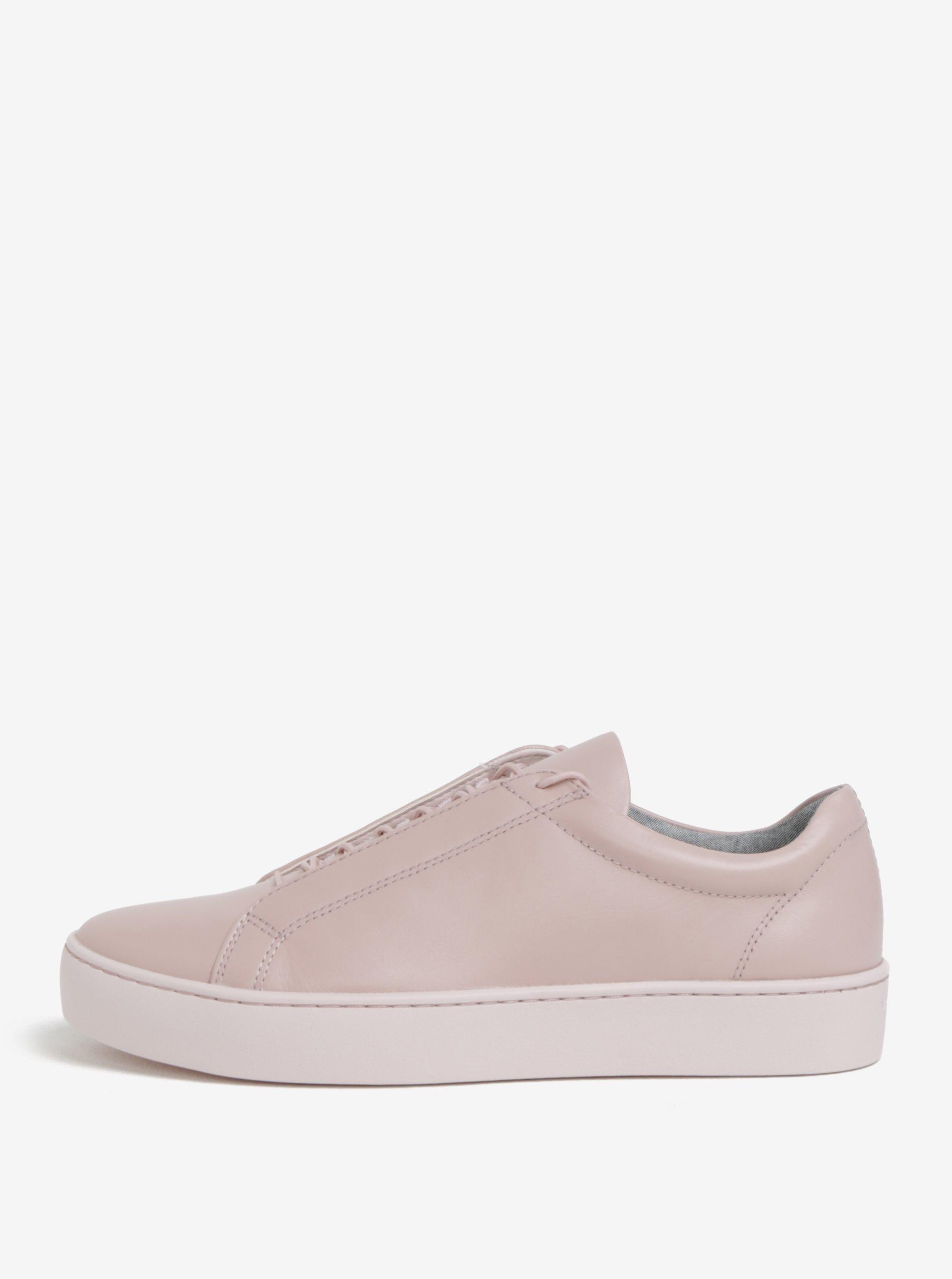 Ružové dámske kožené tenisky Vagabond Zoe  4250b605113