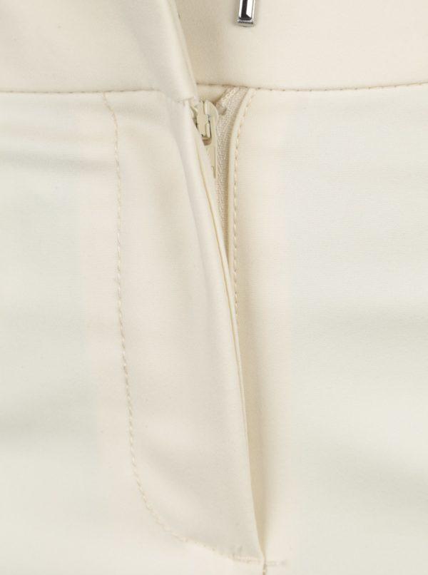 Krémové nohavice VERO MODA Victoria