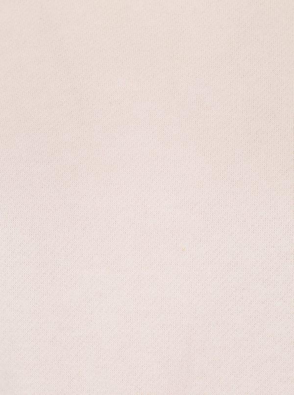 Svetloružová mikina s balónovými rukávmi Noisy May Loui